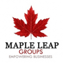 Maple Leap Groups